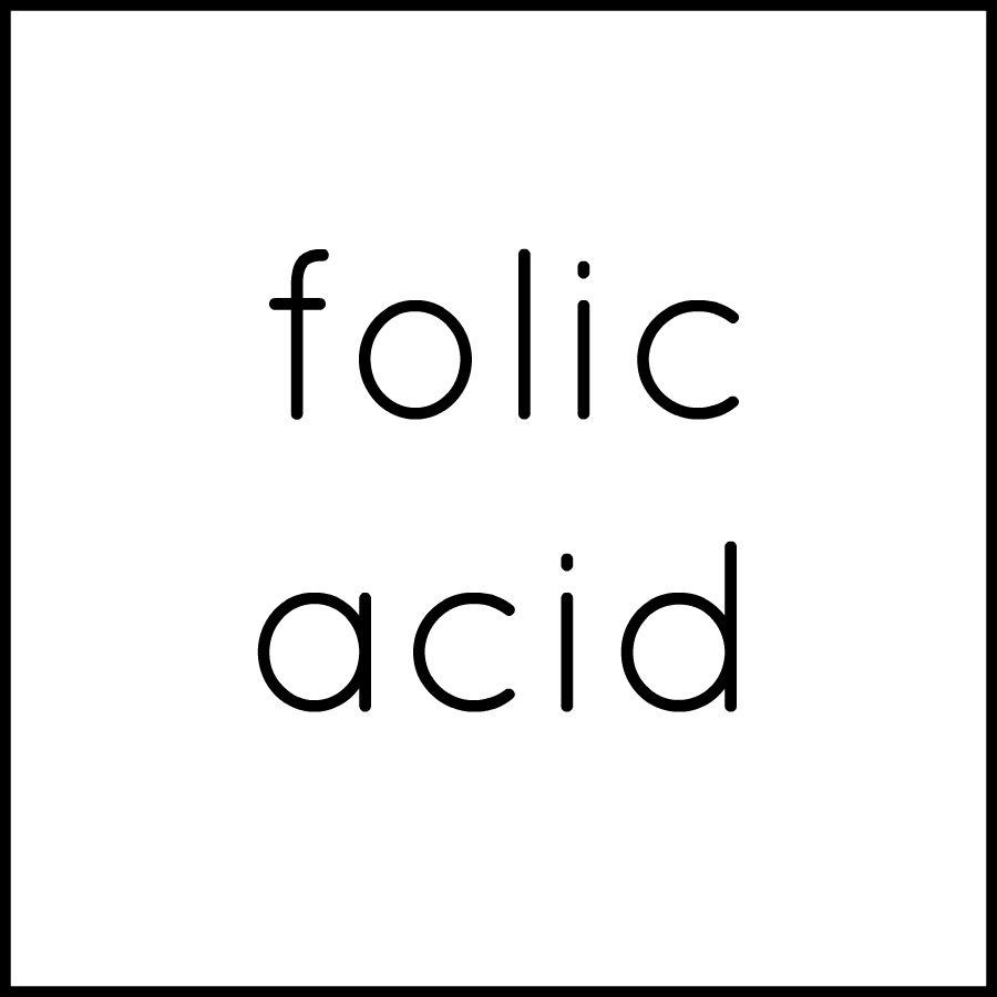 Folic Acid (Folate available by special order)