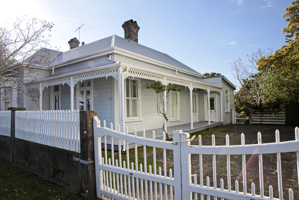 Historic house in Coromandel town