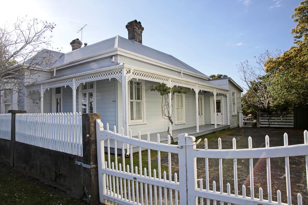 Historic house in Coromandel town