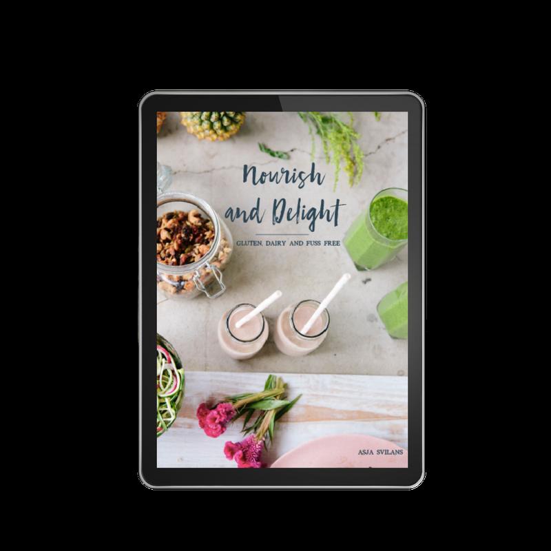 Nourish + Delight: Gluten, Dairy + Fuss Free