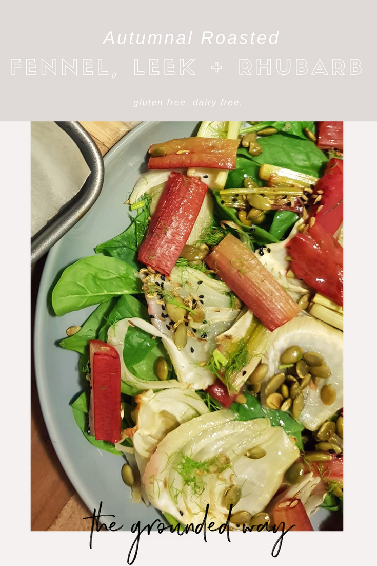 Autumnal Roasted Salad - GLUTEN FREE. DAIRY FREE.Pin it for later xx