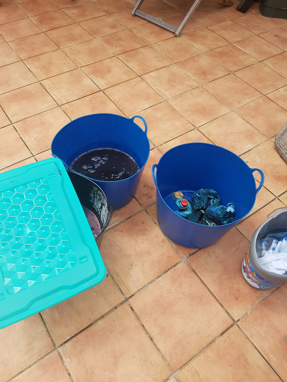 Bucket's of deep blue fun!
