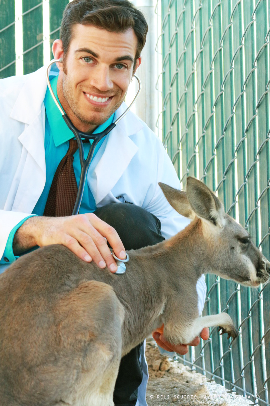 Dr.Evan Antin with Bella Roo
