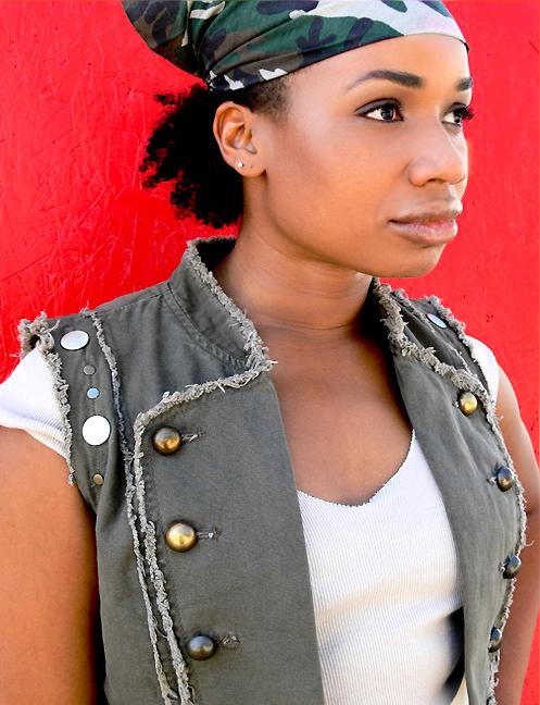 Portrait Singer / Actress Charlene Modeste