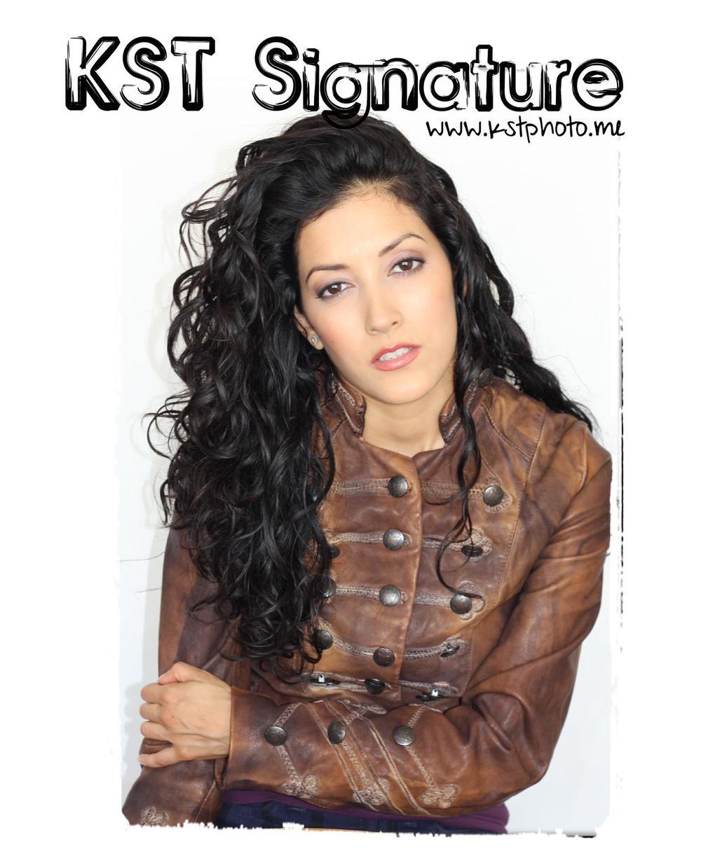 Model / Actress Pamela Marie for KST