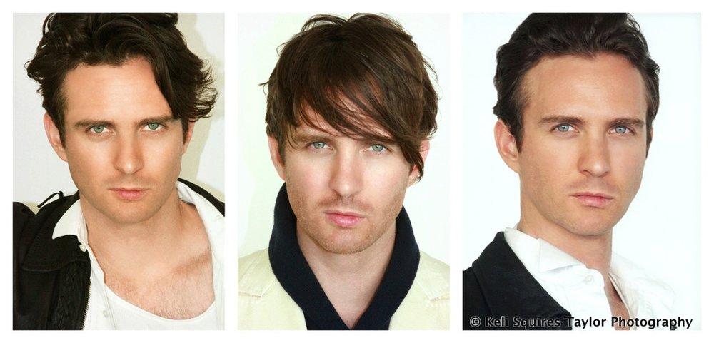 Hair Looks of model / actor Daniel Wilkerson