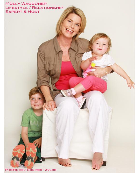 Lifestyle Guru Host Molly Wagner & Kids