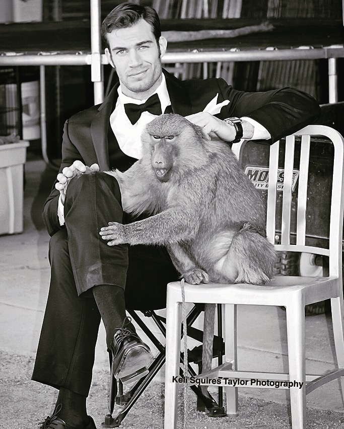 influencer Dr. Evan Antin on location at Animal Tracks with Krissy  © Keli Squires Taylor Photography