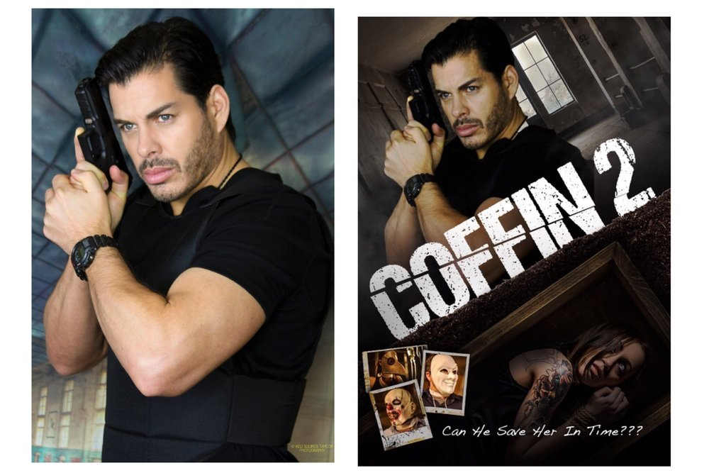 We recently shot an alternate movie cover for Coffin 2. -