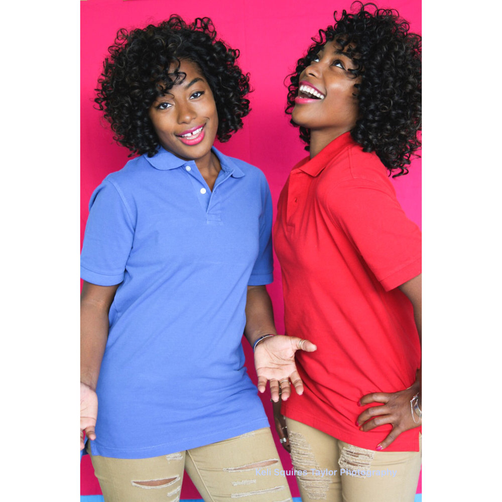 The Newman Twins / Gabrielle & Rachel by Keli Squires Taylor Photography
