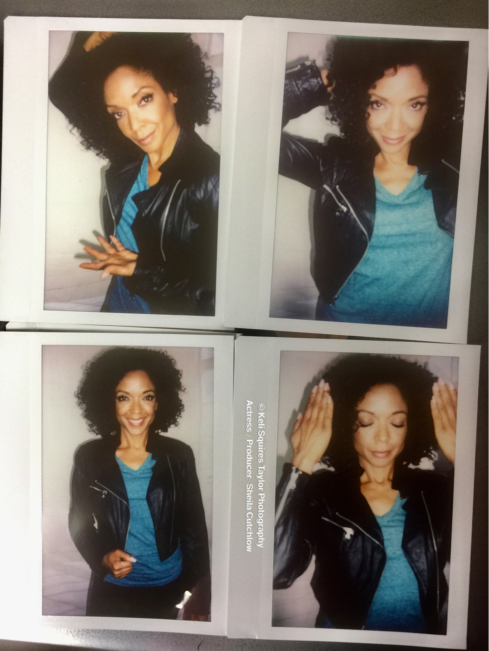 Polaroid fun with Sheila Cutchlow