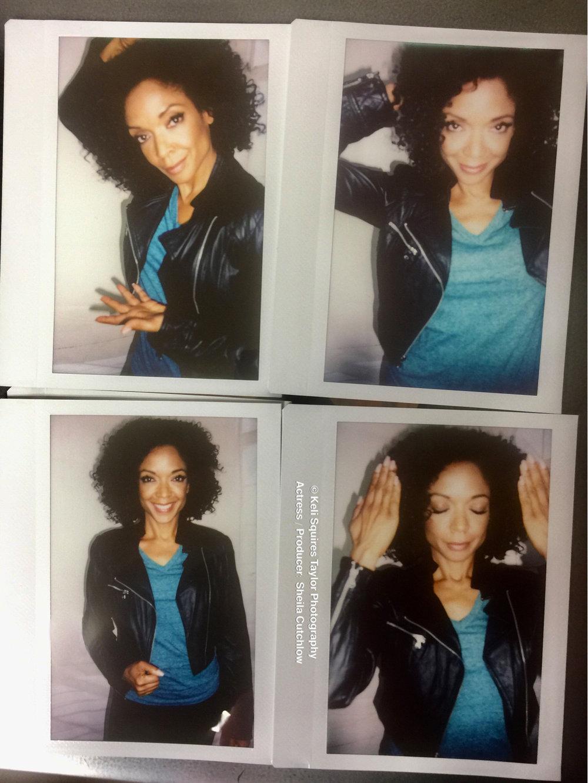 Polaroid fun with Sheila Cutchlow