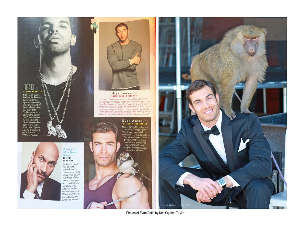 I hired Keli for an exotic animal PR shoot & I really enjoyed working with her And ..I was really pleased with the results!  -  Dr. Evan Antin   PEOPLE Magazine's