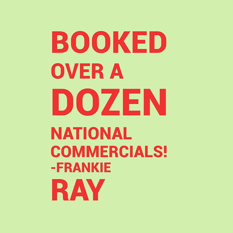 BOOKED - Frankie Ray