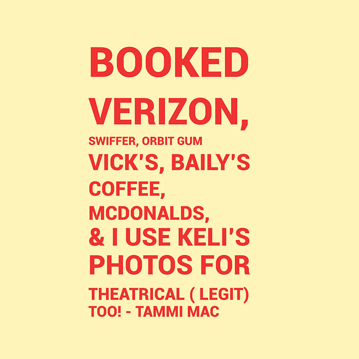 BOOKED Tammi Mac