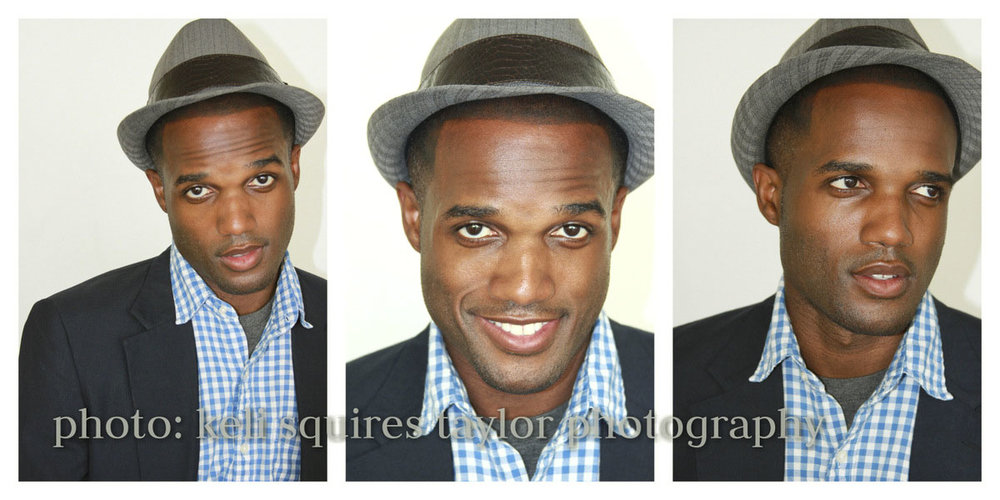 Editorial portraits of actor Theo Clark