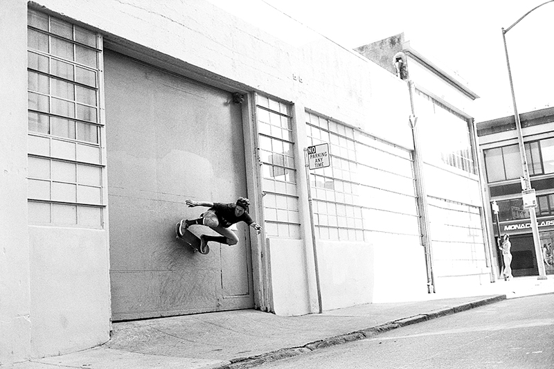 Switch wallride, SF; photo: Hart