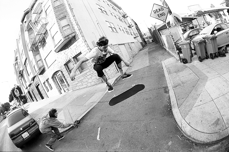 Kickflip, SF; photo: Hart