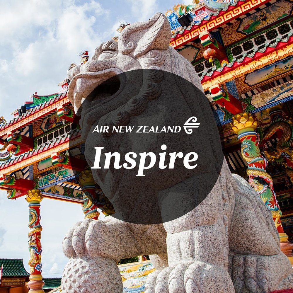 Air New Zealand's Inspire   Sparking Kiwi travellers to embark on a new adventure.