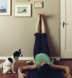 yoga legs up