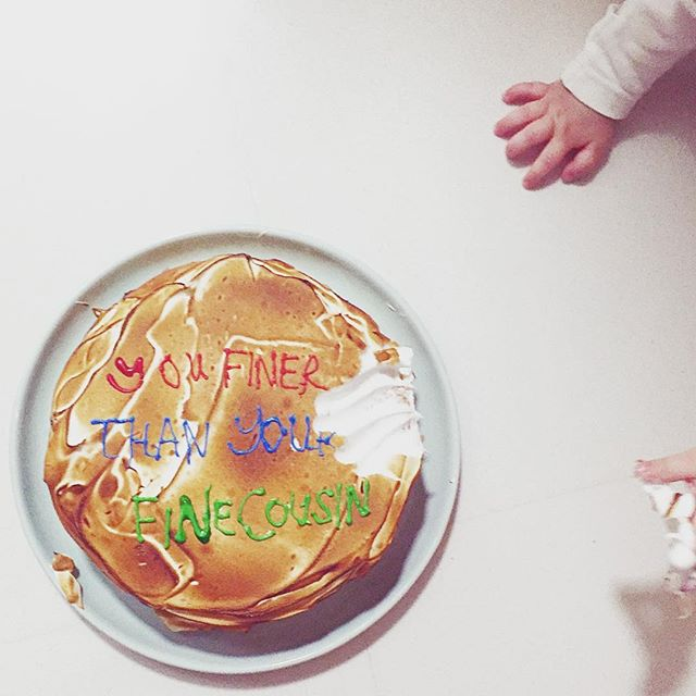 👩🏻 makes cake 👶🏻 destroys #shutitdown