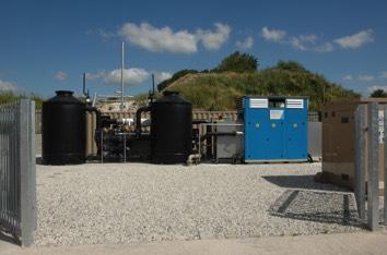 DMT Carborex© membrane system plant