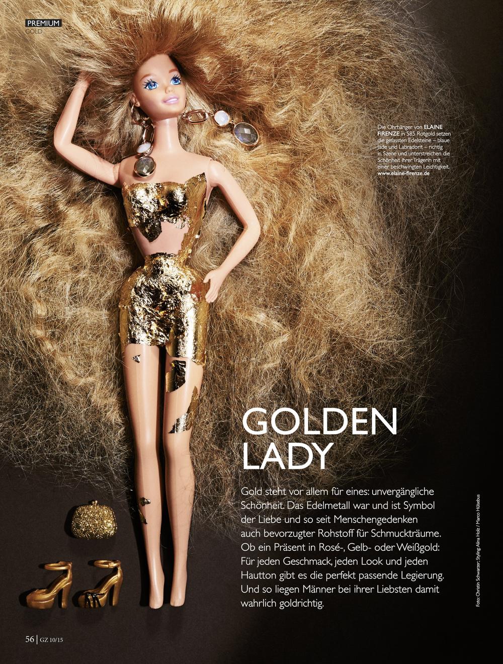 Client: Untitled Verlag l GZ Goldschmiedezeitung  Styling: Alina Holz @Kult