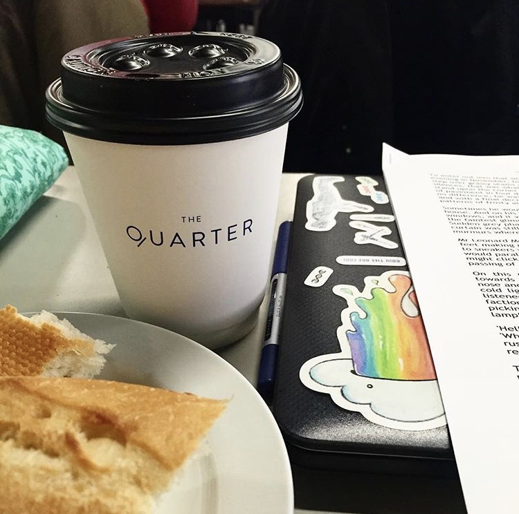 If at first you don't succeed, Chai Chai again. we love this picture @rachblem captured of her study days with her Chai Latte on hand @thequarterondegraves .jpg