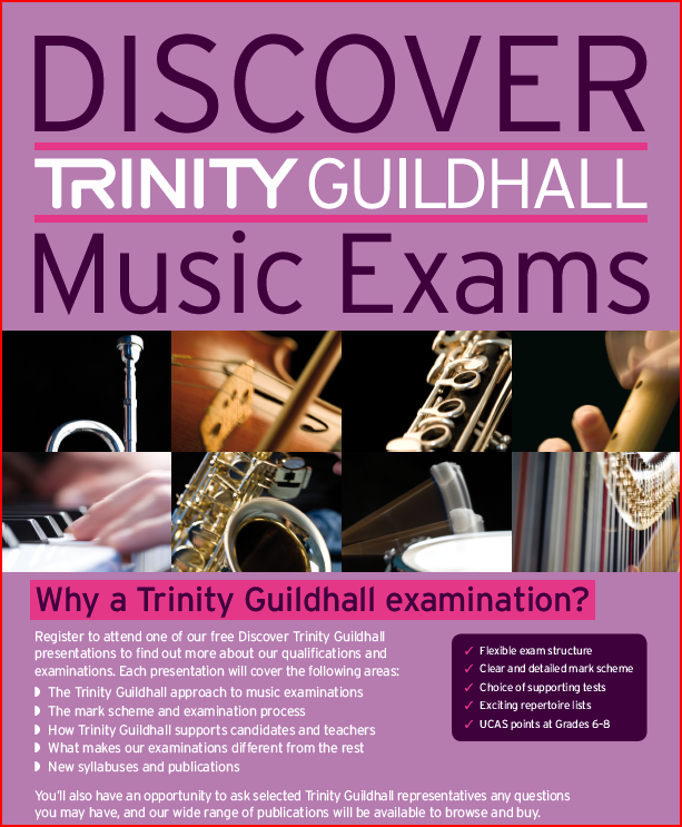 Trinity Guildhall graded music exams