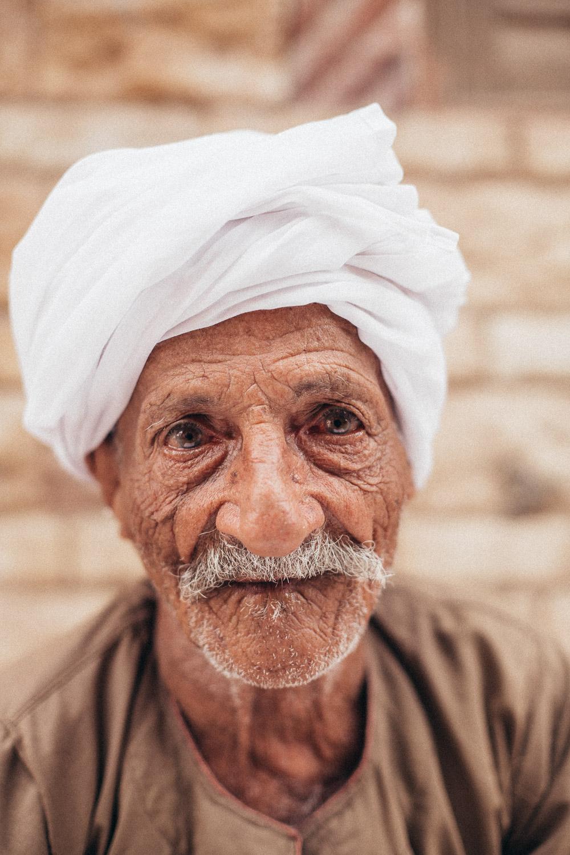 Portrait of a fruit seller