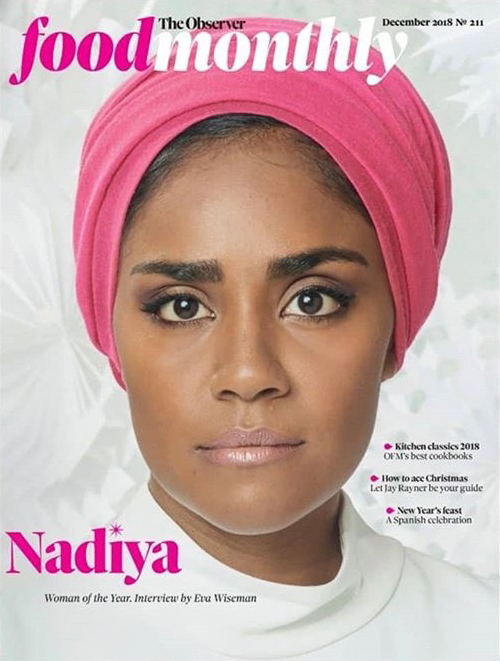 Nadiya Hussain - The Observer Food Monthly Cover Story