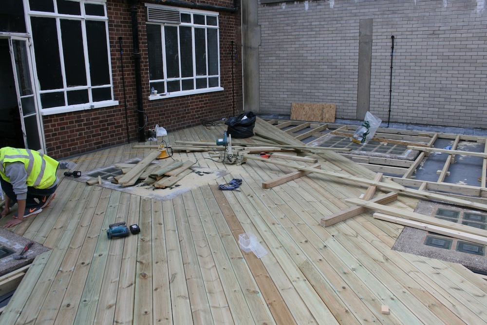 Decking at BL-NK