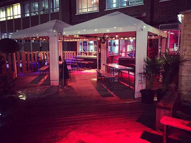 Its beginning to look a lot like Xmas!  We still have a few package nights available for Christmas parties or pop in after work for a few festive drinks with mates - the bar is open every night from Monday 5 December!  #bar #terrace #wine #beer #mulledwine #hackney #shoreditch #christmas #season #festive #holidays #hohoho #xmas #xmastree #roofterrace