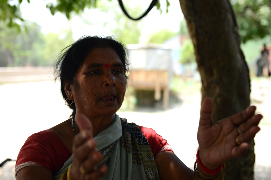 Chandralekha was one of the first women to speak out against prostitution in Nat Purwa