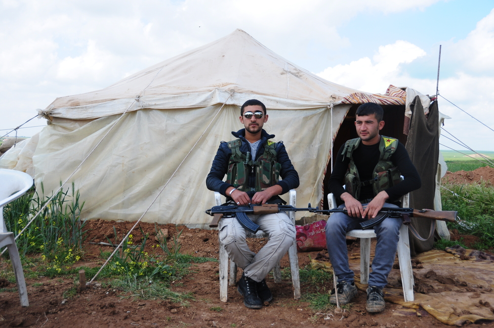 YPG soldiers