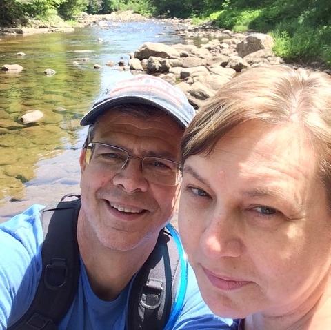 Ned & Marianne Popkins, Loyalsock Creek, Laporte, Pa., June 2014.jpeg