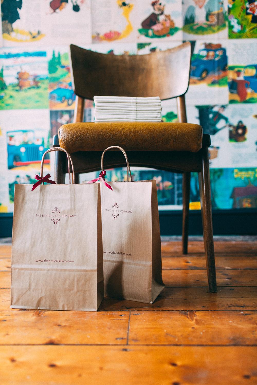 Gift bags display