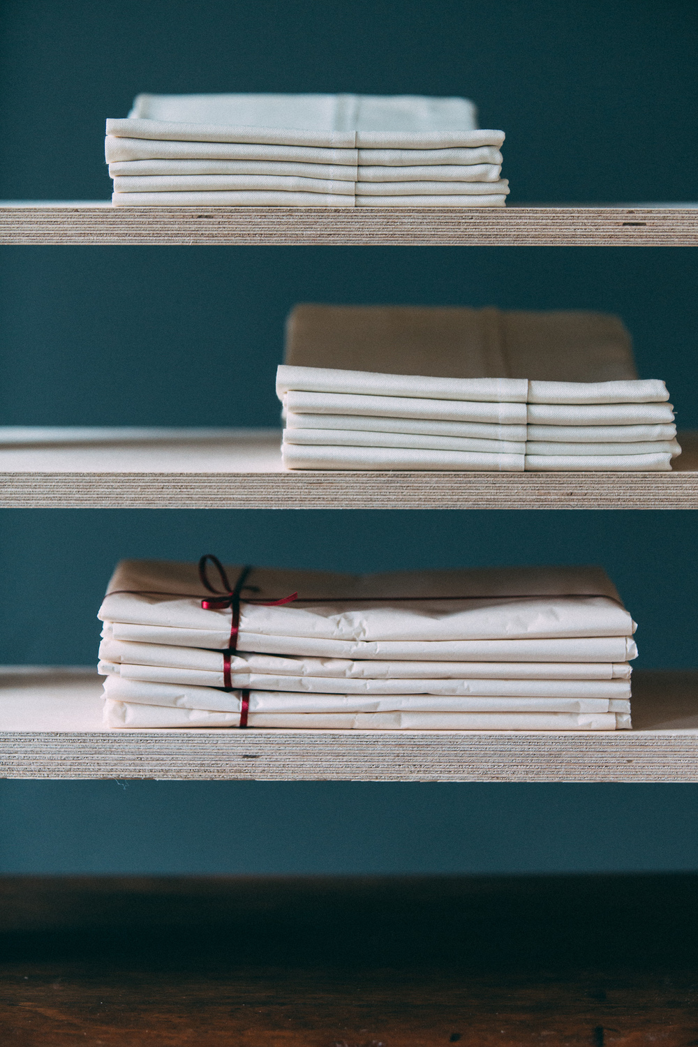 Mulberry silk pillowcases display