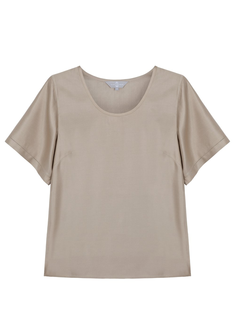 The Ethical Silk Co - Lunar Grey Silk Top - High Res.JPG