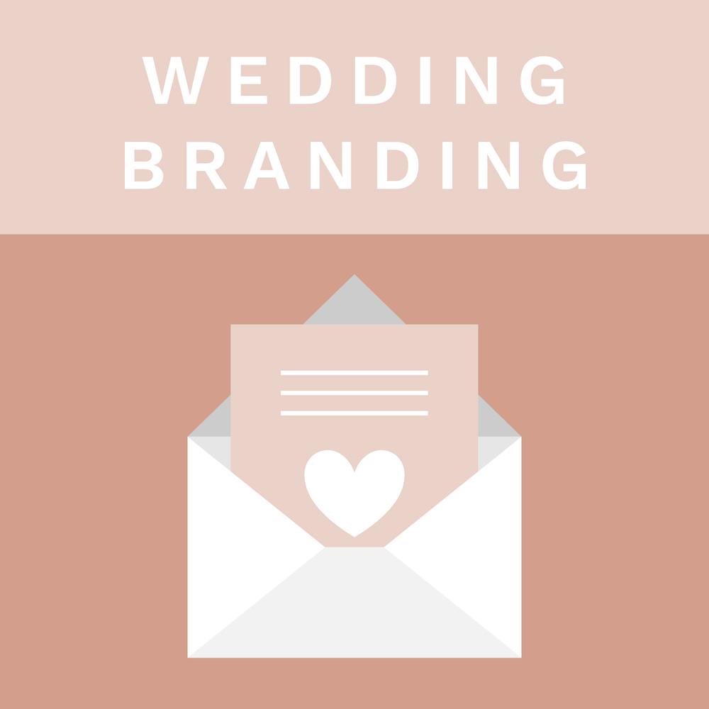 Natalie Drake Wedding Branding