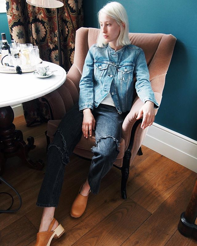 *just a few pairs of the awesome Rachel Comey tickler jean left in stock, get yo self in store errr-sap* #baddenimbadwomen