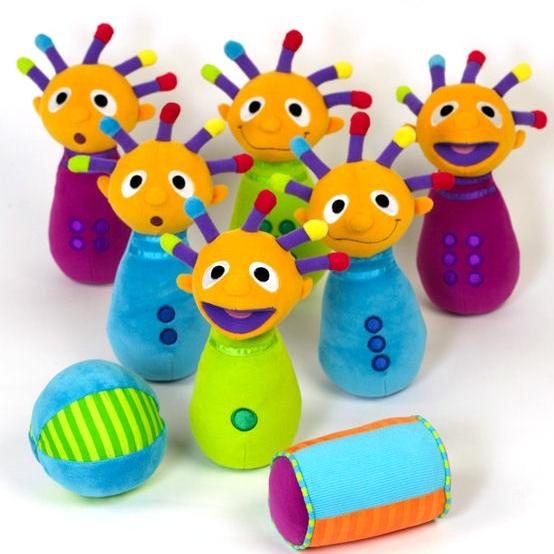 Plush Bowling Toy
