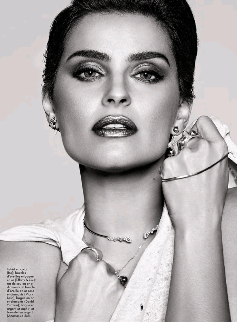 Elle Canada - Nelly Furtado - Anastassia Sel Jewelry