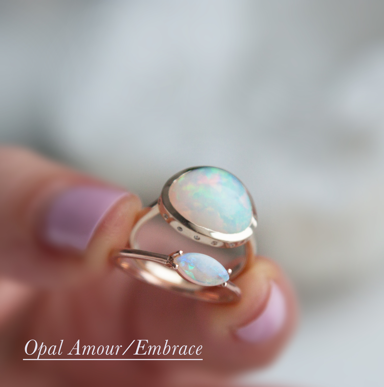 Anastassia Sel Jewelry - Opal Everyday Ring