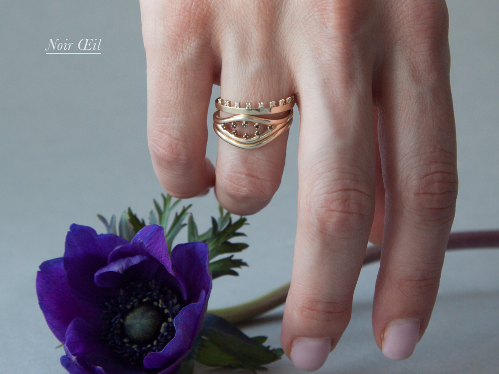 Anastassia Sel Jewelry Lookbook - Unique Engagement Ring