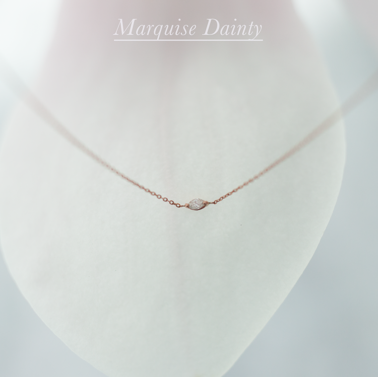 Anastassia Sel Jewelry Lookbook - Tiny Diamond Necklace