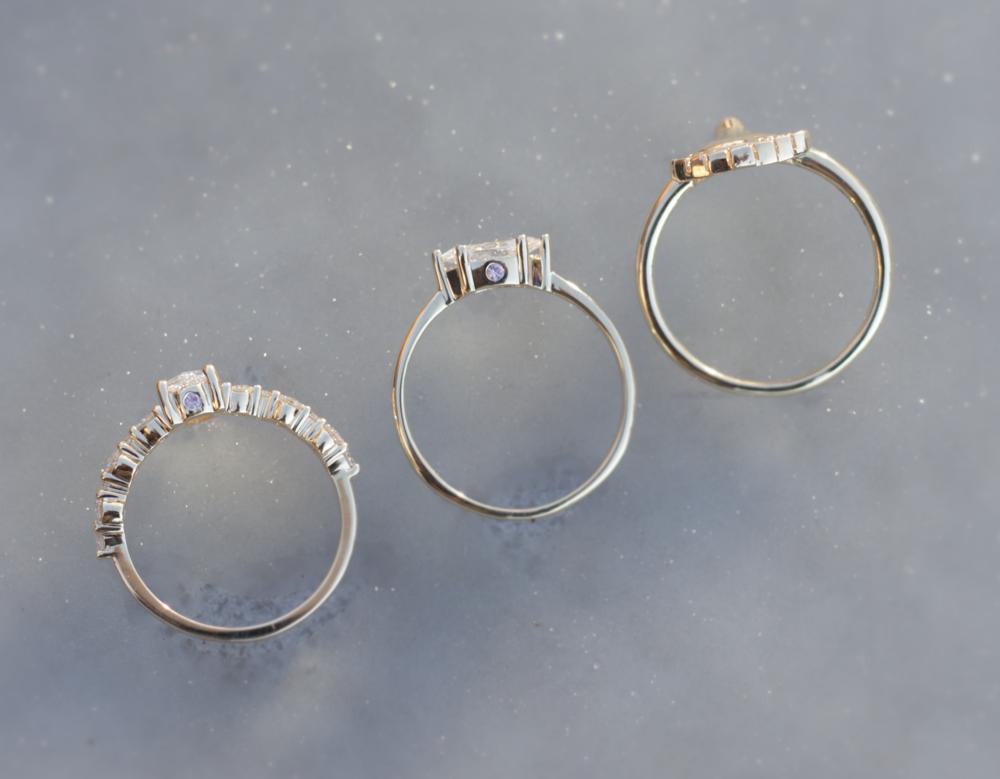 Anastassia Sel Jewelry - Unique Engagement Ring