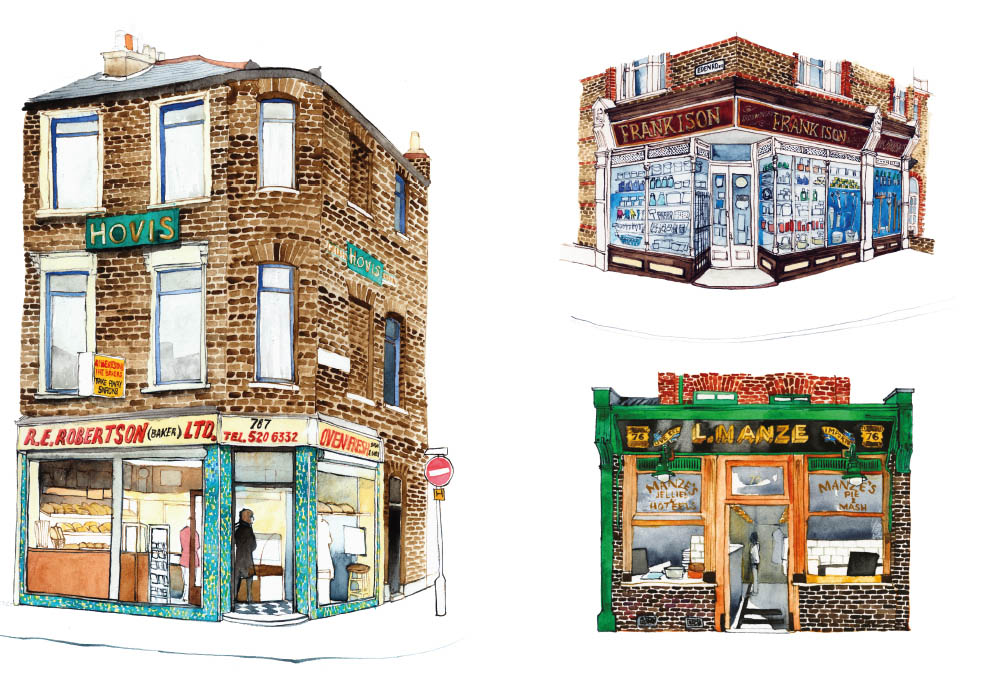 Walthamstow print 2, Ltd Ed of 5, 30x40cm £100 unframed