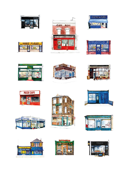 Walthamstow print (large), Ltd Ed of 5, 70x100cm £225 unframed