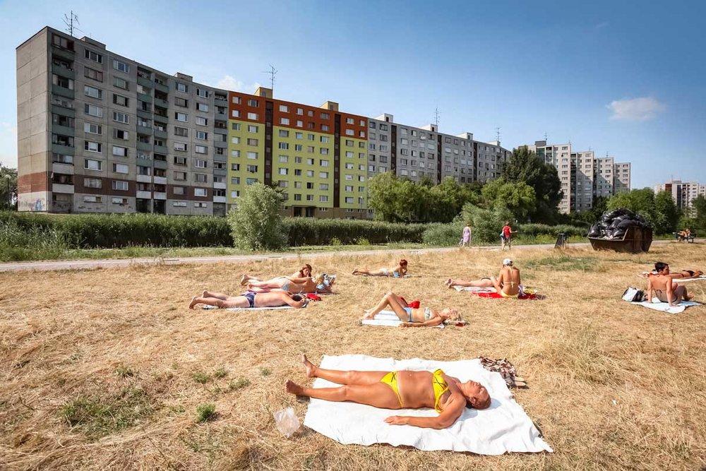 Copy of 8. Sunbathers, Bratislava, 2006